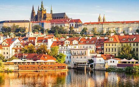 2-hodinová projížďka na e-skútru s průvodcem Prahou