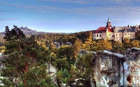 Letní pěší výlet Českým Švýcarskem z Prahy