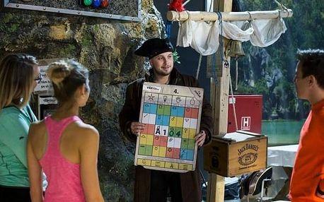 Dobrodružná dovolená s hrou Boyard na Slapech: 7 dní
