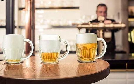 Prohlídka pivovaru Staropramen s ochutnávkou piva