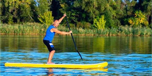 Celodenní výlet SUP na řece Sázavě z Prahy