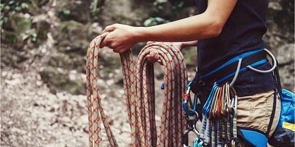 Celodenní začátečnický kurz lezení v Moravském Krasu
