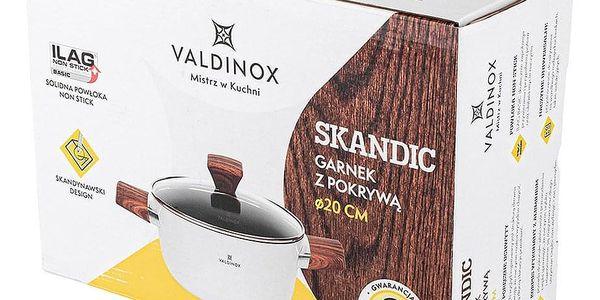 Valdinox Skandic Hrnec s poklicí, 24 cm3