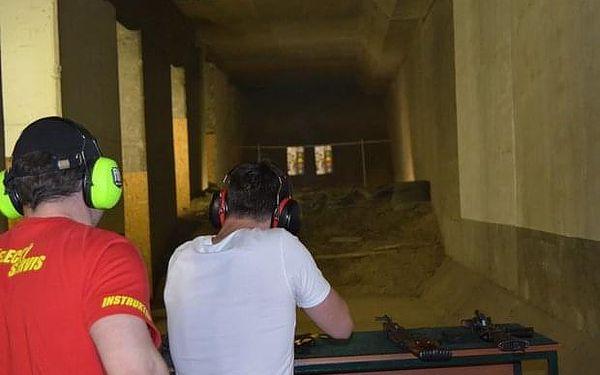 Střelecký program 3 Guns Echo na střelnici v Praze