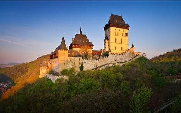 Výlet z Prahy na hrad Karlštejn (oběd a vstupné v ceně)