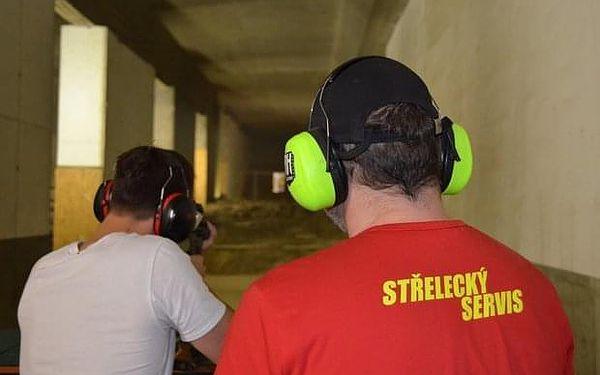 Střelecký program Start na střelnici v Praze