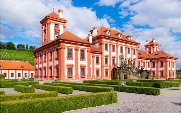 Pohodový cyklovýlet podél Vltavy k Trojskému zámku v Praze