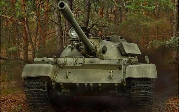Řízení tanku s instruktorem nedaleko Prahy