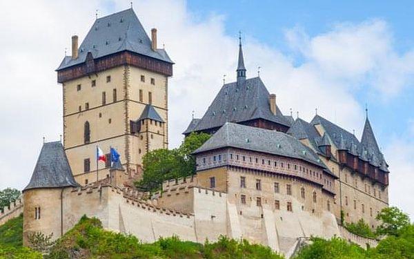 Výlet na hrad Karlštejn autobusem z Prahy