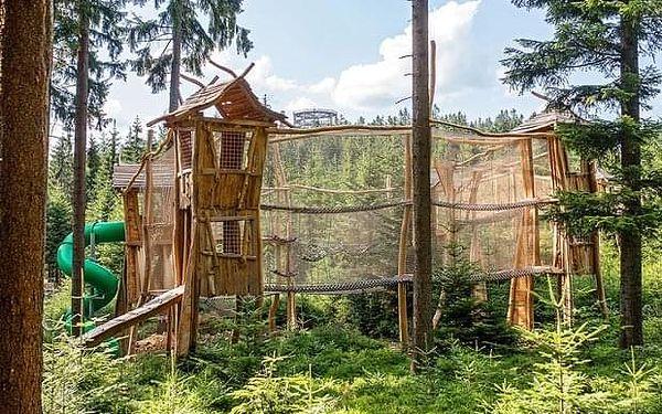Lesní hřiště Království lesa Lipno
