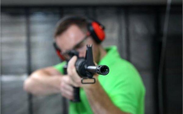 Střelecký program Sniper na střelnici v Praze