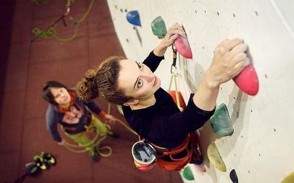Ochutnávka lezení na umělé stěně v Praze
