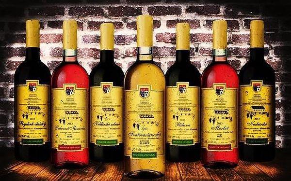 Degustace 16 lahví přívlastkových oceněných vín