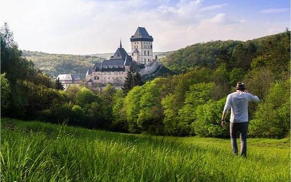 Výlet z Prahy na Karlštejn s dopravou a prohlídkou hradu