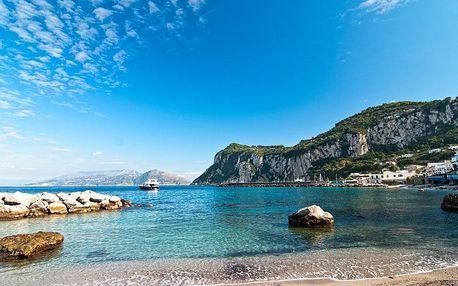 Krásy Jižní Itálie - Řím, Neapol, Vesuv, Pompeje, Herculaneum, Caserta i Capri