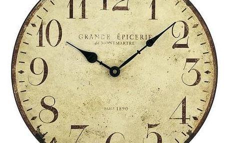 Lowell Clocks 21410 nástěnné hodiny