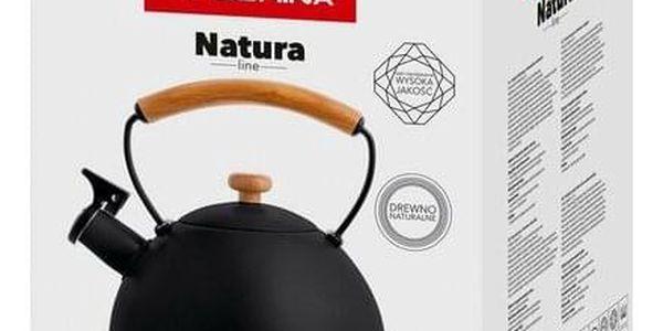 Florina Nerezový čajník Natura Line 2,3 l, černá3