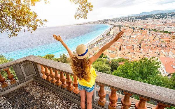Putování po Azurovém pobřeží a Provence