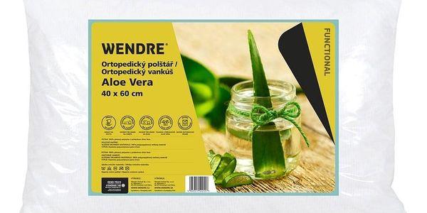 Wendre Ortopedický polštář Aloe Vera, 40 x 60 cm2