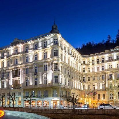 Luxusní pobyt v 5* Grandhotelu PUPP s neomezeným wellness - dlouhá platnost poukazu