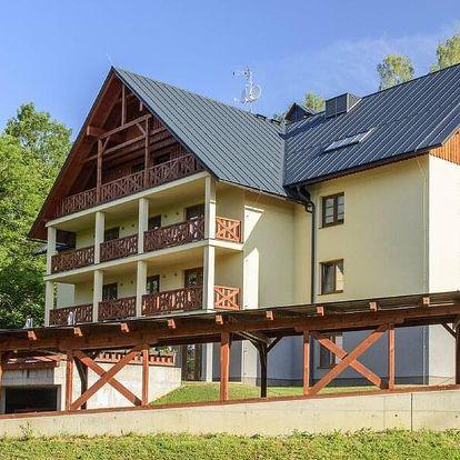 Moderní apartmány v Krkonoších až pro 5 osob