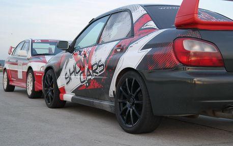 4 či 8 kol na Polygonu Brno v Mitsubishi a Subaru