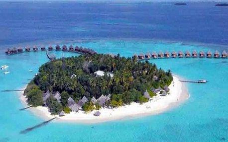 Maledivy - Severní Atol Male letecky na 8-14 dnů