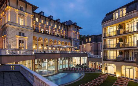 Neomezený wellness s polopenzí v luxusním Falkensteiner Spa Resort Mariánské Láznĕ 5*