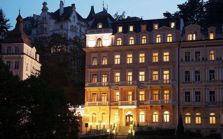 Karlovy Vary ve 4* luxusu s polopenzí, wellness i procedurami