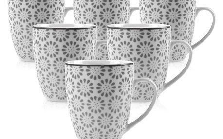 Mäser Sada porcelánových hrnků ORNATE, 6 ks