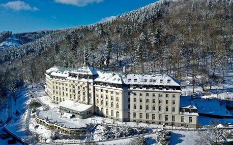 Krušné hory: Hotel Radium Palace