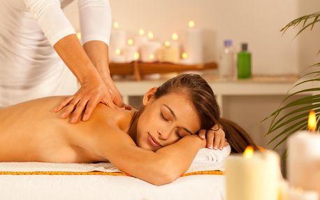 Hodinová masáž dle výběru: dračí nebo lymfatická