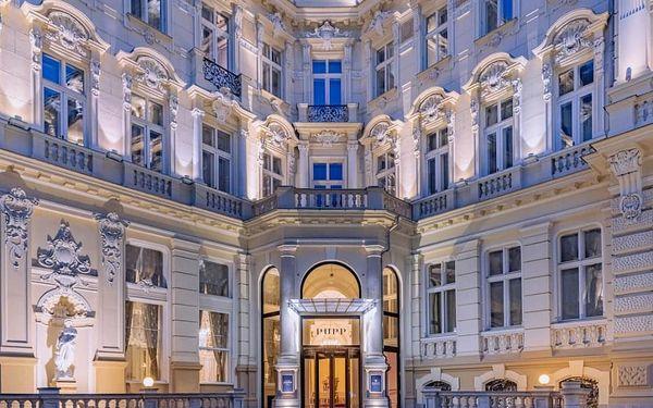 Luxusní pobyt v 5* Grandhotelu PUPP s neomezeným wellness 3 dny / 2 noci, 2 os., snídaně3