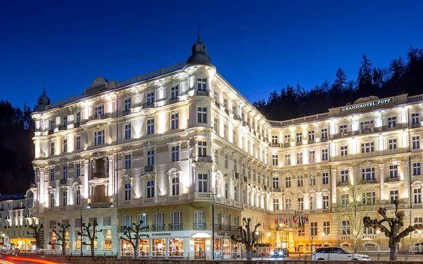 Luxusní pobyt v 5* Grandhotelu PUPP s neomezeným wellness 3 dny / 2 noci, 2 os., snídaně