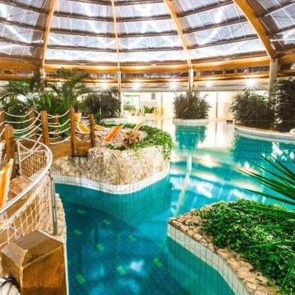 Maďarsko: Gotthard Therme Hotel **** s vlastními lázněmi a wellness (1 500 m²) + polopenze a nápoje neomezeně