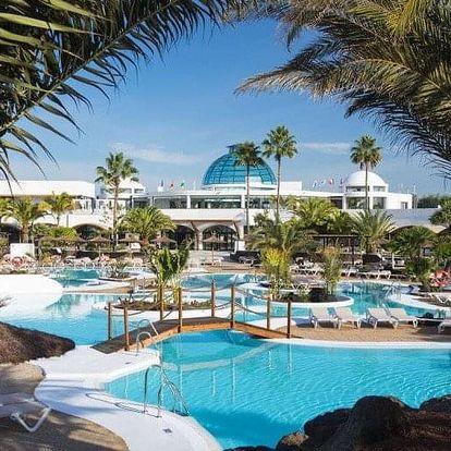 Španělsko - Lanzarote letecky na 8 dnů, polopenze