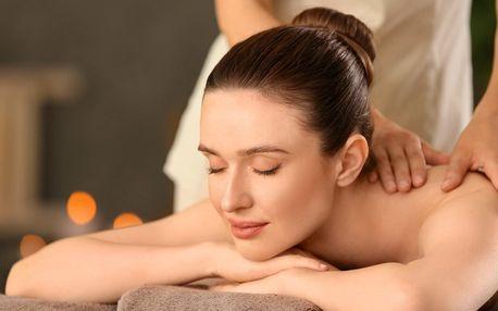 Relaxační či sportovní masáž: 60, 120 nebo 180 min.