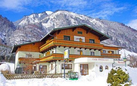 Zimní Rakousko: Vysoké Taury v Hotelu Wasserfall *** s neomezeným wellness, svačinkami, skibusem a polopenzí