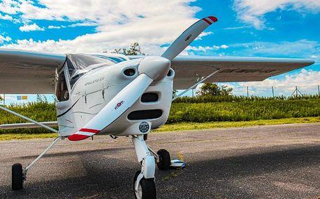 Pilotem ultralightu na zkoušku 20 minut
