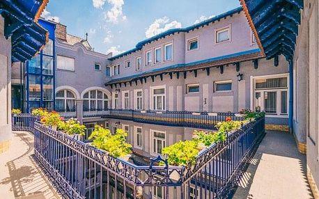 Pobyt v Budapešti nedaleko centra v Baross City Hotelu *** s místním poplatkem a WiFi připojením zdarma