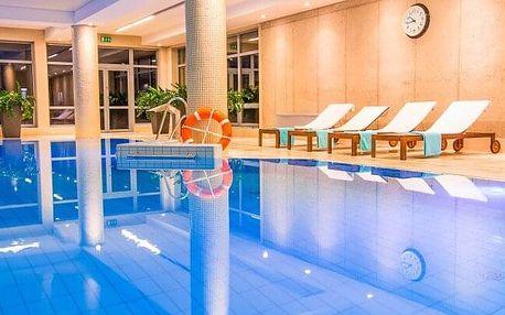 Polsko u českých hranic v luxusním lázeňském Hotelu Spa Medical Dwór Elizy *** s wellness a polopenzí