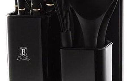 Berlinger Haus Sada nožů ve stojanu + kuchyňské náčiní a prkénko sada 12 ks Black Rose Collection
