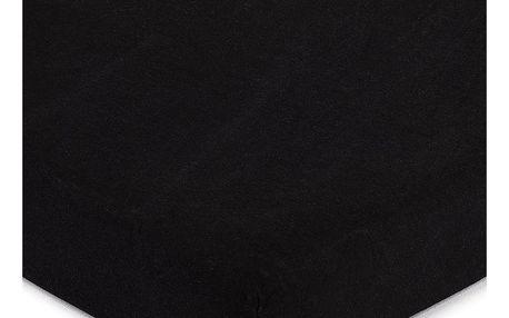 4Home jersey prostěradlo černá, 140 x 200 cm