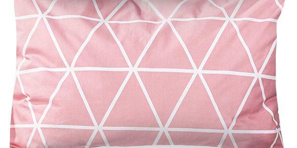 4Home Povlak na polštářek Galaxy růžová, 50 x 70 cm