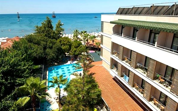 Trendy Side Beach, Side, Turecko, Side, letecky, all inclusive3