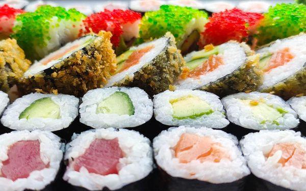 Sushi ve Vítkovicích: sety o 30 či 50 pochoutkách