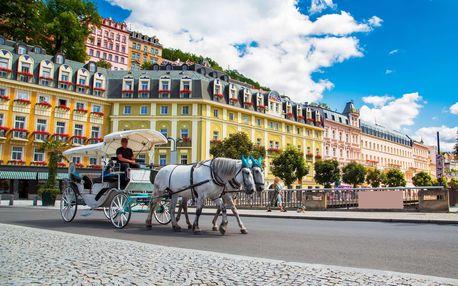Spa Hotel Panorama v Karlových Varech s wellness a stravou