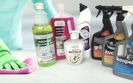 Čisticí prostředky Lavon: mýdla, odmašťovače i pasty