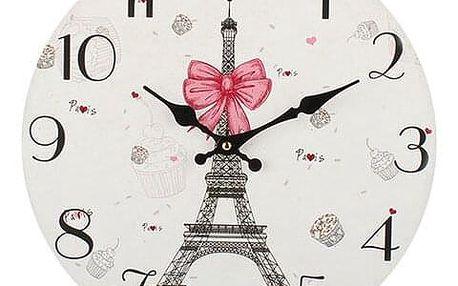 Dakls Nástěnné hodiny Paris, pr. 34 cm