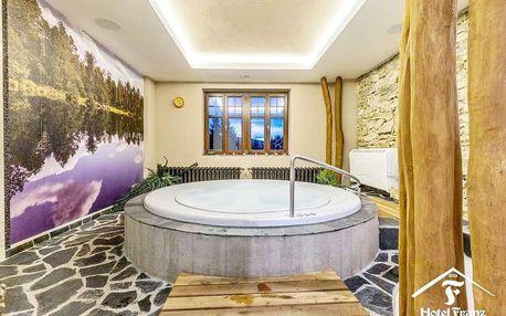 Hotel Franz v srdci Jeseníků s wellness